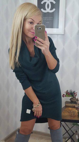 sukienkagolfzielona