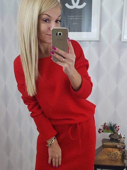 sukienkazwiazaniemczerwona