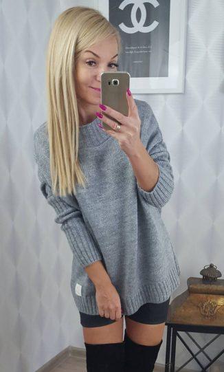sweterekkszary